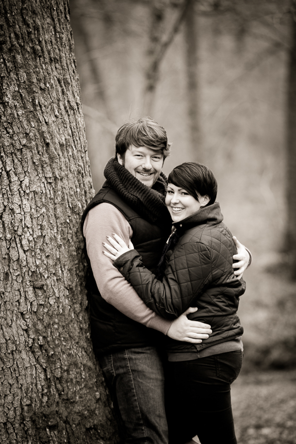 Forest of Dean pre wedding shoot