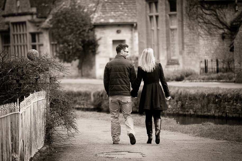Lower Slaughter Pre Wedding Shoot