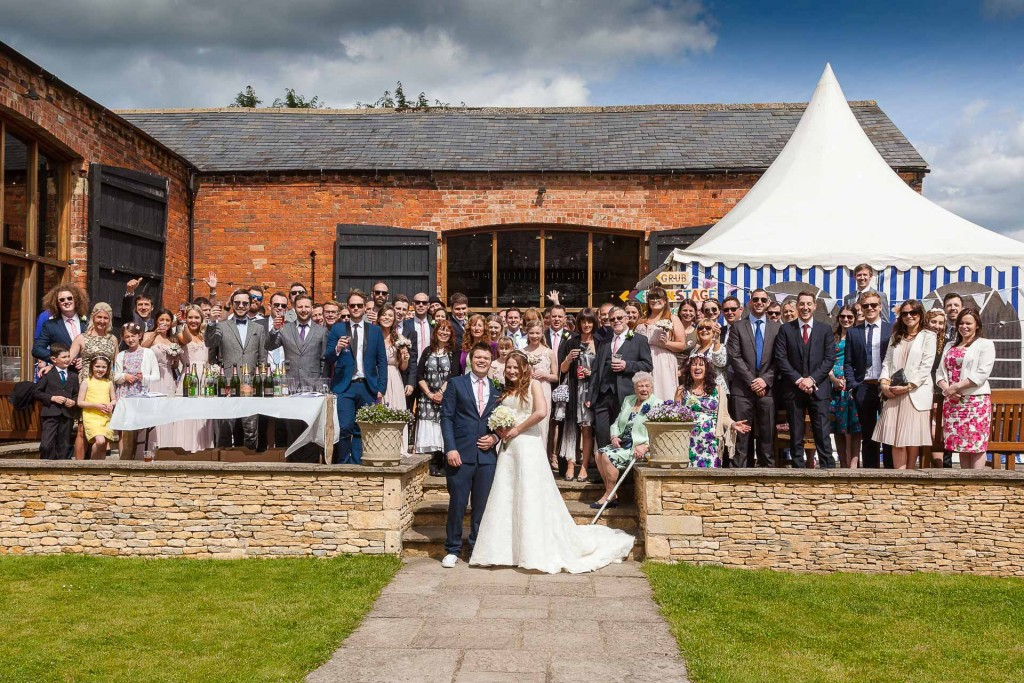 Mickleton Hills Farm Wedding Photography