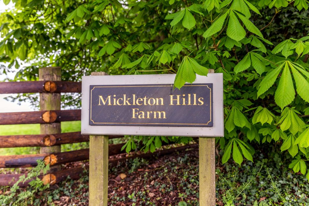 Mickleton HIlls Farm Wedding