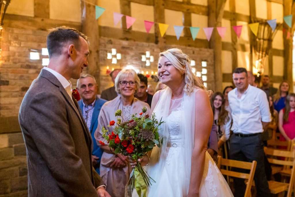The Wool Barn Frampton Wedding