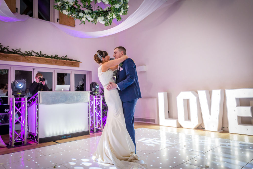 Hyde House Winter Wedding