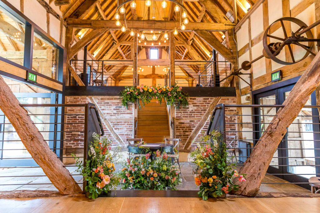Barns & Yard Wedding